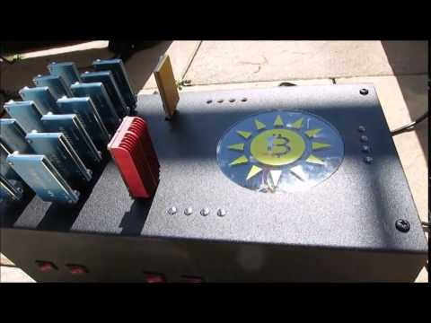 Mining Bitcoins In The Backyard With Solar Panels Youtube