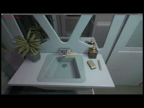 Star Trek TOS Enterprise Bathroom Demo