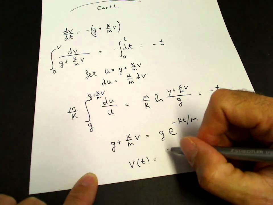 Terminal Velocity Physics Youtube