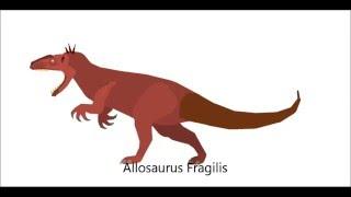 PPBA Tyrannosaurus vs Allosaurus Remake