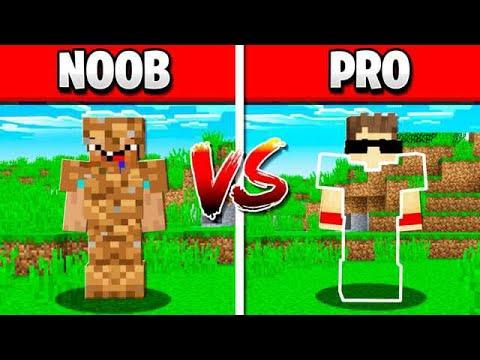 NOOB MINECRAFT ARMOR vs GOD ARMOR! thumbnail