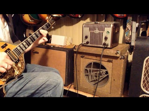 1940s Webster Chicago Wire Recorder Guitar Amp Conversion (PART 2)