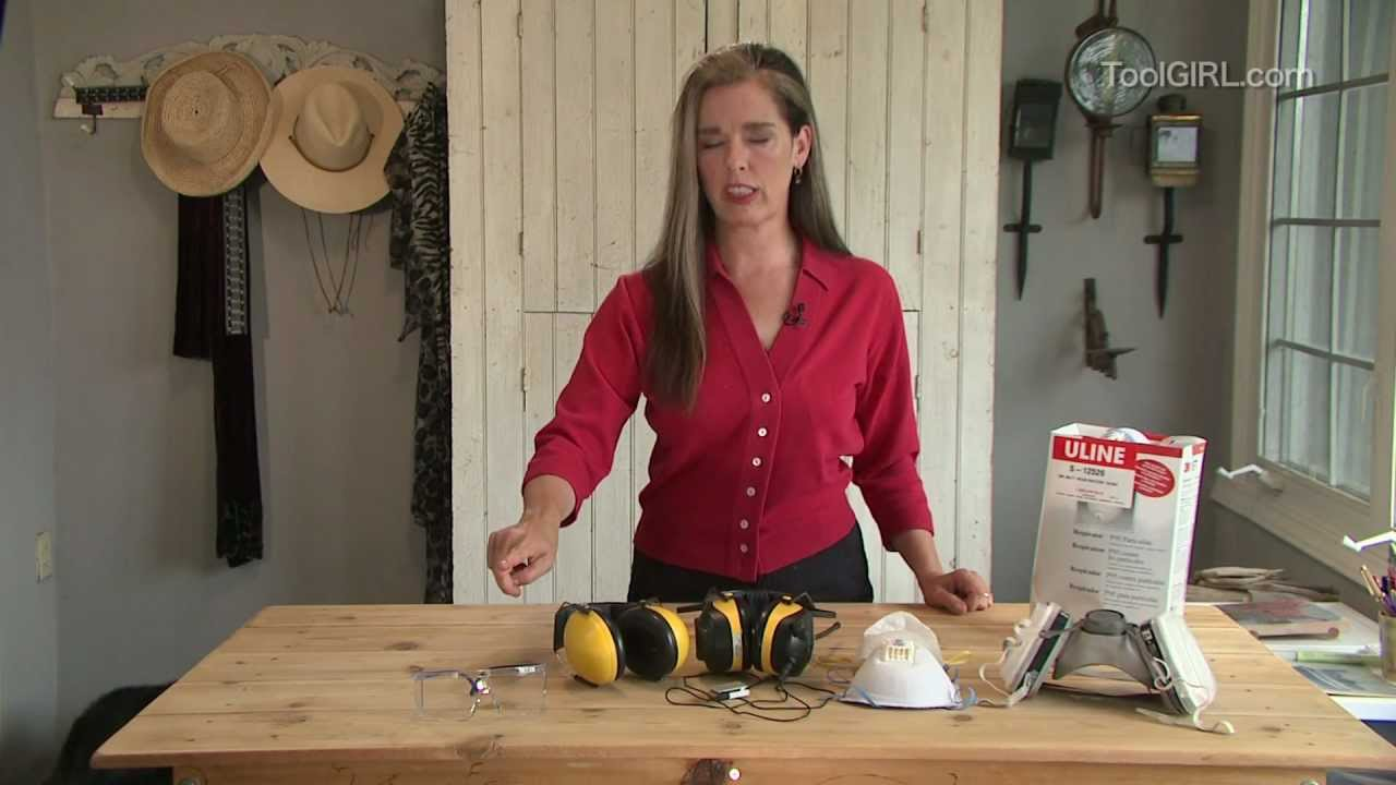ToolGirl Mag Ruffman - Safety Gear Roundup - YouTube