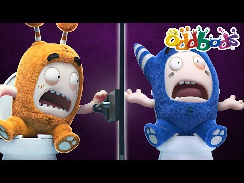 Thumbnail: ODDBODS - TOILET TROUBLES | NEW FULL EPISODES | The Oddbods Show | Funny Cartoons For Children
