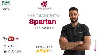 Spartan Training -  Livello 4 - 10 (Live)