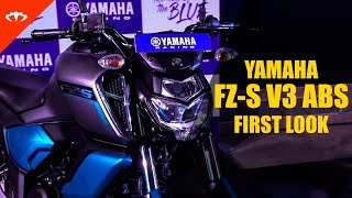 New 2019 Yamaha FZ-S Fi and FZ Fi V3.0 ABS - whats new? | IAMABIKER