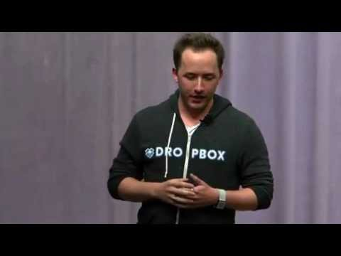 Drew Houston (Founder Dropbox) - Talk - Finding Your Way as an Entrepreneur @ Stanford University