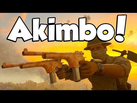 AKIMBO PISTOLS! (Call of Duty WW2 Akimbo Pistols)