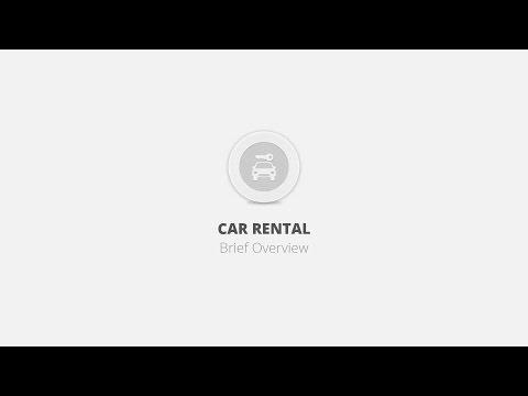 Car Rental WordPress Plugin - Brief Overview