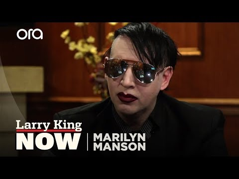 Marilyn Manson on Billy Corgan and Kanye West | Larry King Now
