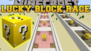 Minecraft: DEADLIEST LUCKY BLOCK RACE - Lucky Block Mod - Modded Mini-Game