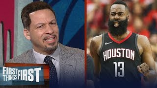 Chris Broussard on the Houston Rockets' weaknesses, Talks Spurs over Warriors | FIRST THINGS FIRST