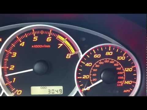 2012 Subaru WRX 0-60 in 4.9 seconds