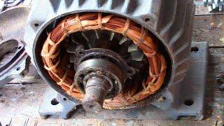 Проект №2. Разбираем советский электродвигатель. Часть 1.