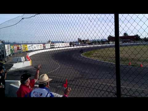 Jake sets fast time at Lucas Oil Speedway 3/5/2011
