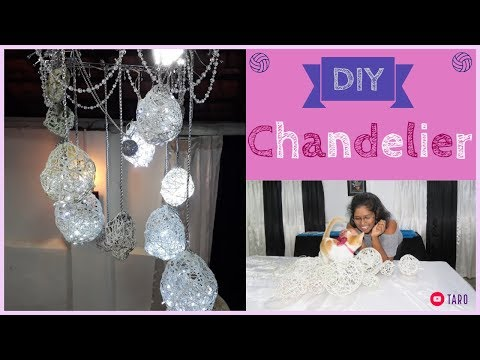 DIY Chandelier - How to make at home