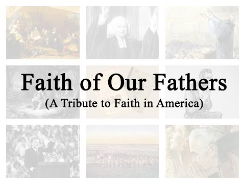 Faith of Our Fathers (Hymn Charts with Lyrics, Contemporary)