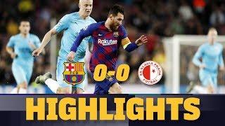 HIGHLIGHTS | Barça 0-0 Slavia Prague