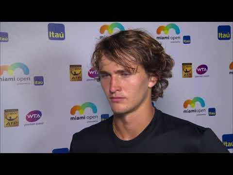 Miami Open, Alexander Zverev, Post Match Quarterfinal Interview
