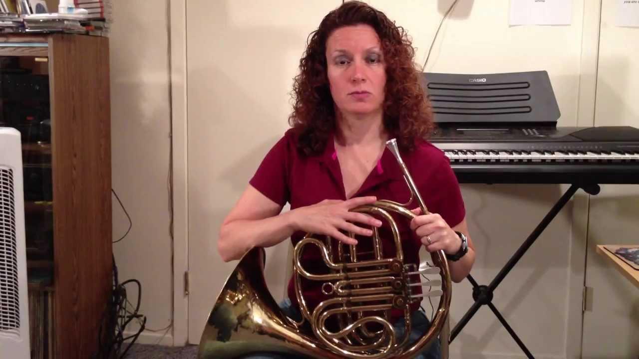 French Horn Posture - Donna Schwartz Music