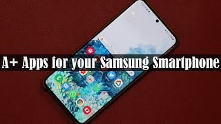 5 Must-Have Apps for Samsung Galaxy Smartphone (free & without ads) (Galaxy S20, Note 10, S10, etc)