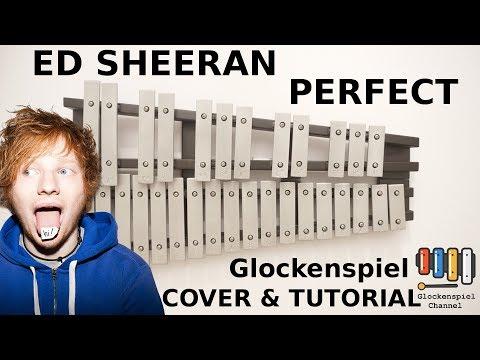 💗Ed Sheeran  Perfect 🎺XYLOPHONE GLOCKENSPIEL +TUTORIAL🎧EASY