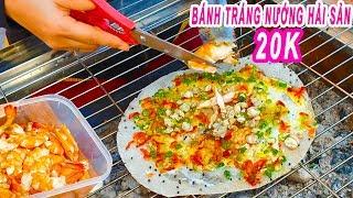 Ngon lạ Bánh Tráng Nướng Hải Sản 20k mới xuất hiện ở Sài Gòn