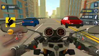 City Traffic Moto Racing - motorcycle racing game - Gameplay Android games
