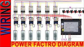 Power Factor Wiring Diagram    PFI Wiring Diagram   Power Factor wire Diagram   PFI Panel Wiring