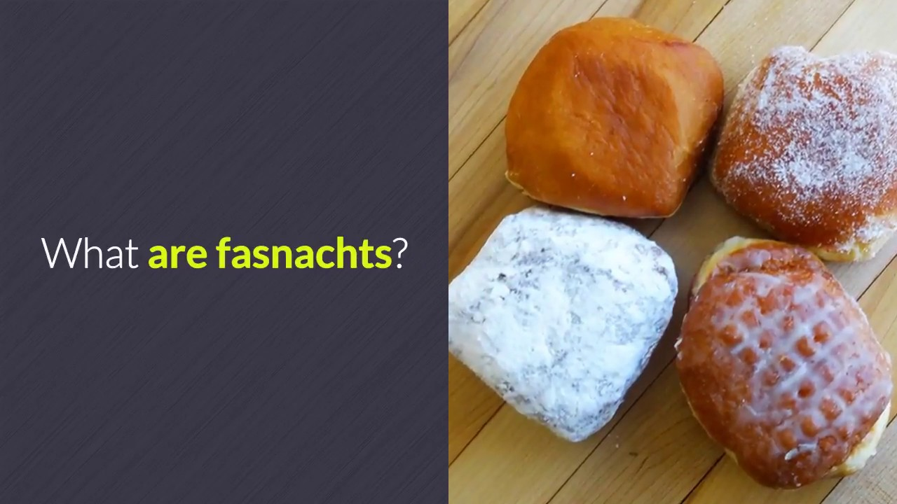 What Is Fasnacht Day Youtube