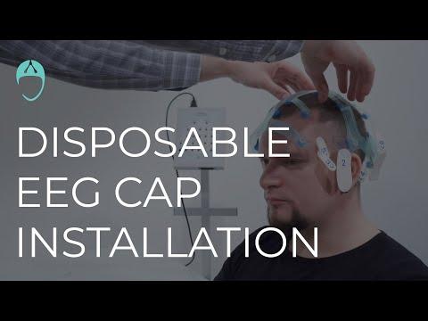 Disposable EEG cap