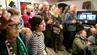 Концерт на открытии выставки в галерее ''Свиное рыло''