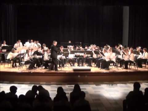 Superior Middle School 8th Grade Spring Band Concert 2015