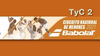 Resumen del TyC 2 de Vizcaya, perteneciente al Circuito Nacional de Menores Babolat