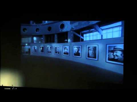 Stefana Vanfleterena (Stephan Vanfleteren) atklātā lekcija World press Photo izstādes Rīgā ietvaros.