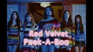 ♫ MV中韓字幕  Red Velvet 레드벨벳_피카부(Peek-A-Boo)♫