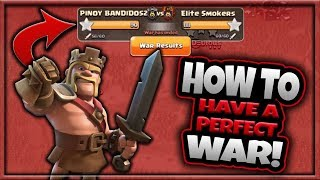 How to Have a PERFECT WAR | All 3 Stars | META ATTACKS | MLCW | Clash of Clans