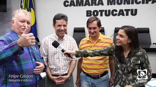 Vereador Trigo homenageia Ramiro Viola e Pardini pelos 20 anos de carreira