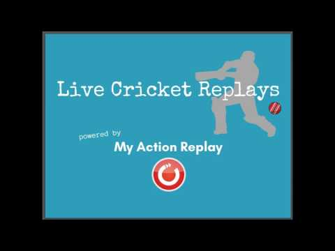 Cricket Action Replays with My Action Replay