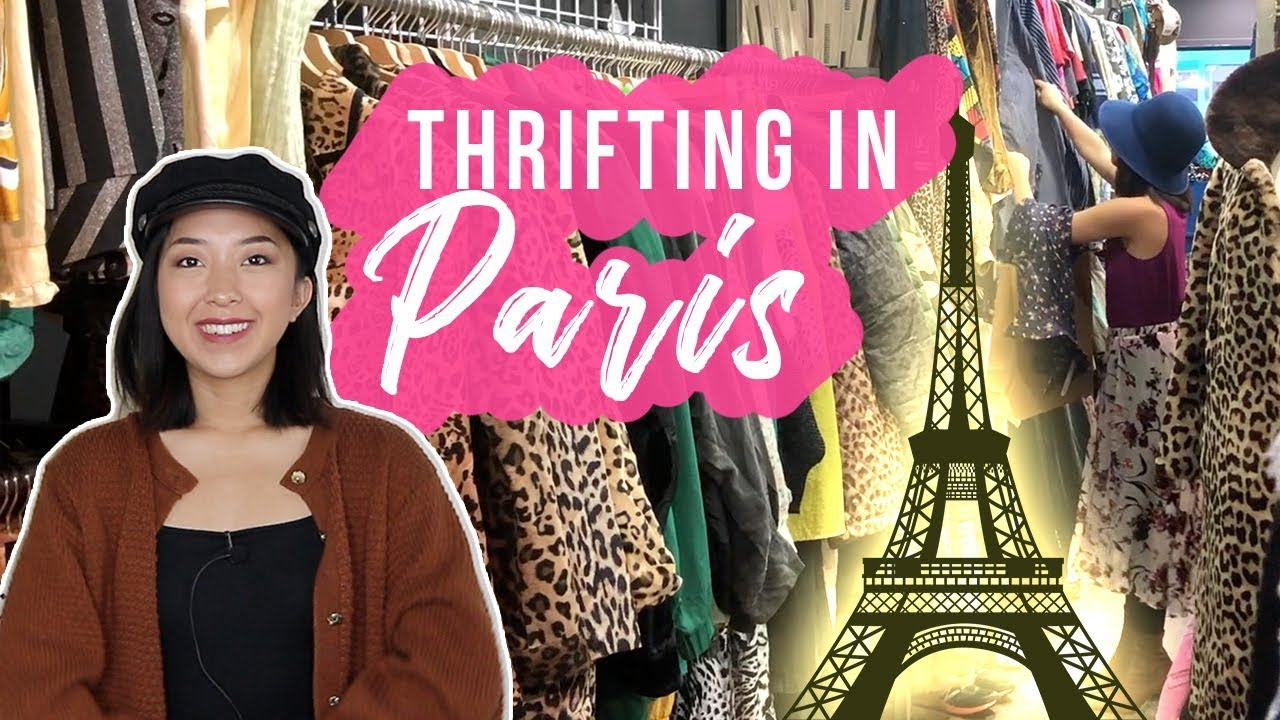 [VIDEO] - THRIFTING IN PARIS, FRANCE | TRY-ON HAUL 1