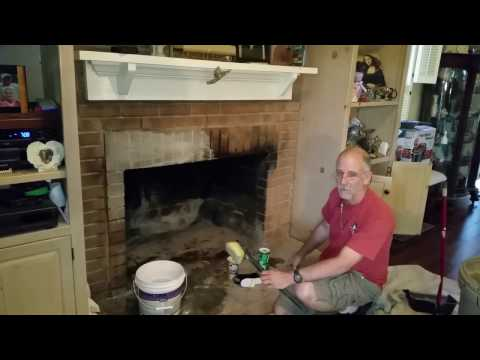 Best way to clean Creosotes off brick fireplace hack