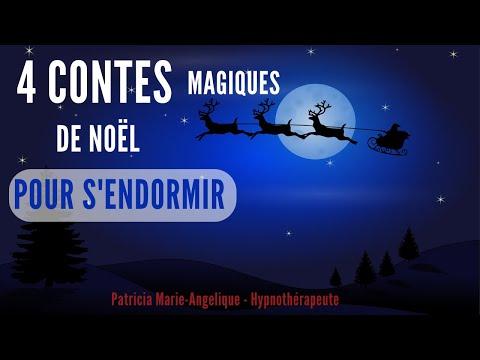 Méditation POUR ENFANT S'endormir TRANQUILLEMENT 4 contes de noël