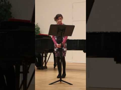 Jackie's recital - Part of Your World