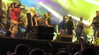 David Hasselhoff - do the limbo dance (Accleration 2014, Hungary)