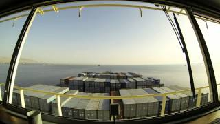 EBBA MÆRSK SUEZ CANAL TIME LAPSE