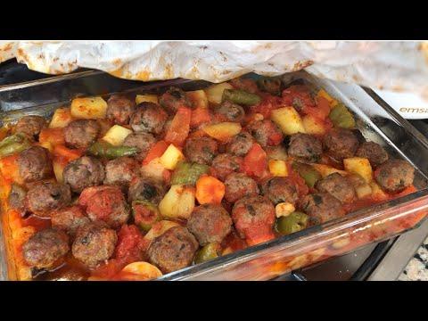 Yeni Favorimiz Köfteli Kağıt Kebabı 😋👌🏻| Akşama Değişik Ne Pişirsem? #2