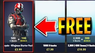 "How to get NEW ""Wingman"" Starter Pack for FREE! - Fortnite Battle Royale"