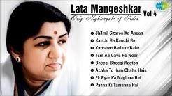 Best of Lata Mangeshkar - Vol 4   Jhilmil Sitaron Ka Angan   Kanchi Re Kanchi  Karvaten Badalte Rahe