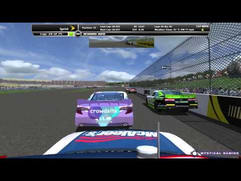 NR2003 Autodesk Series - New Hampshire Speedway  - HD