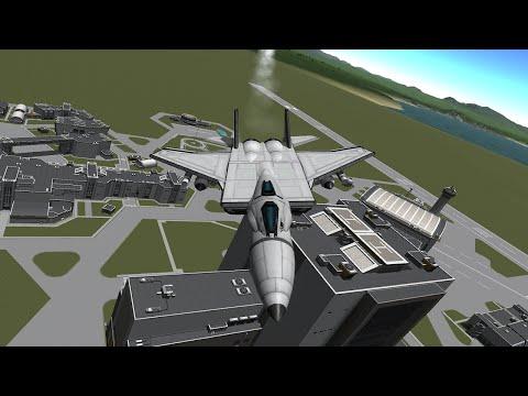 [KSP STOCK] F-15 Eagle (K-15)